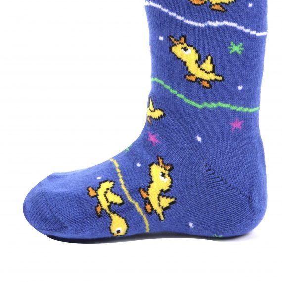 Boys 2 Pack Ankle Socks - Ducks Design