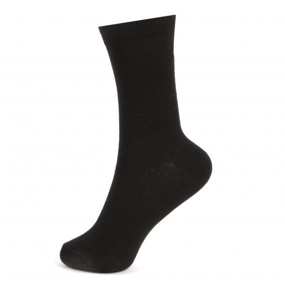 Kids Black School Socks