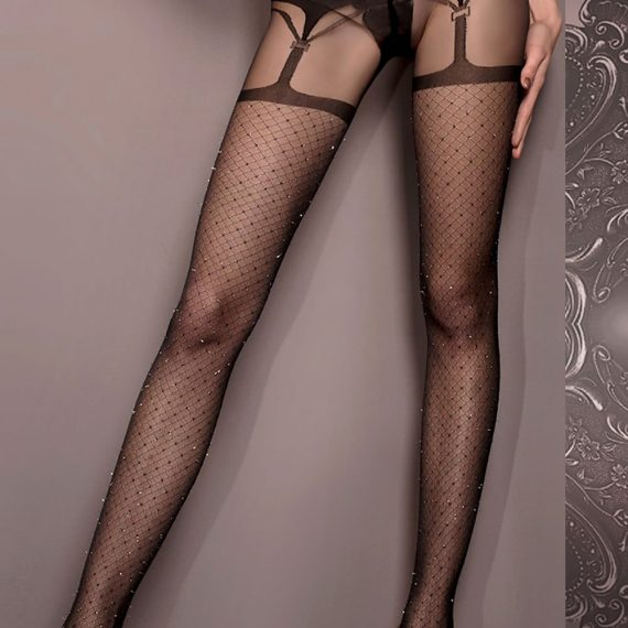 Womens Suspender Effect Tights