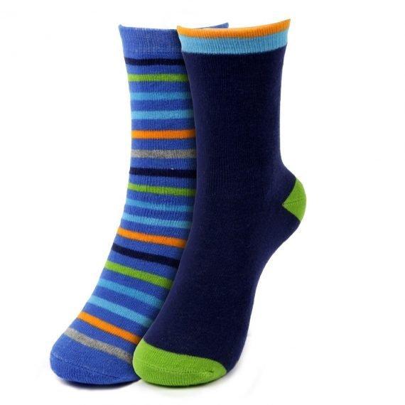 Boys Slipper Socks Stripes