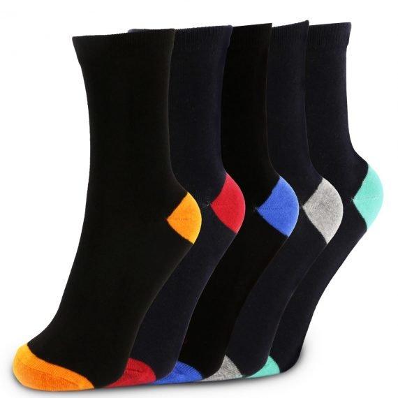 Boys 5 Pack Ankle Socks