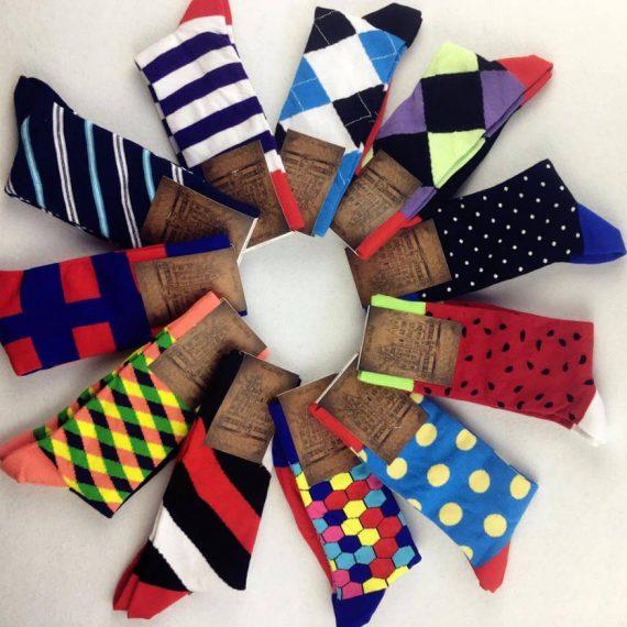 Mens Valentine Socks