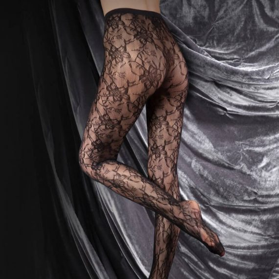 Womens Lace Tights