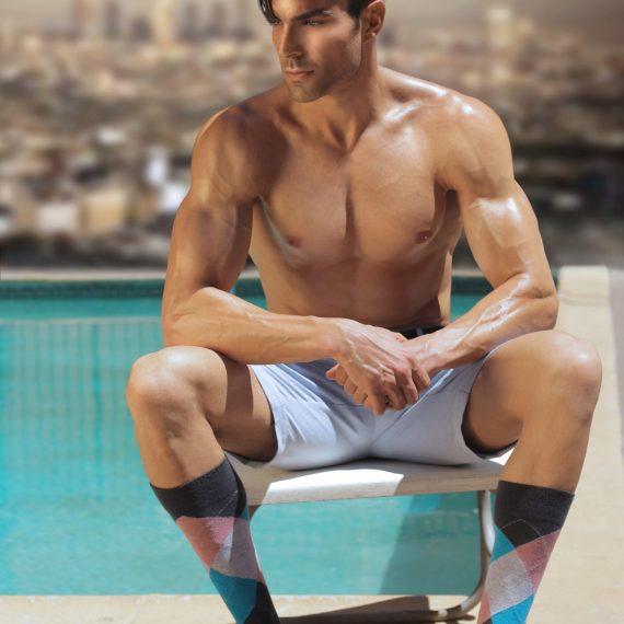 Mens Long Length Socks